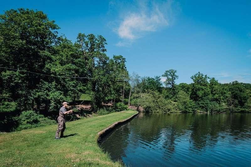 Sprite Fishing On The Lake