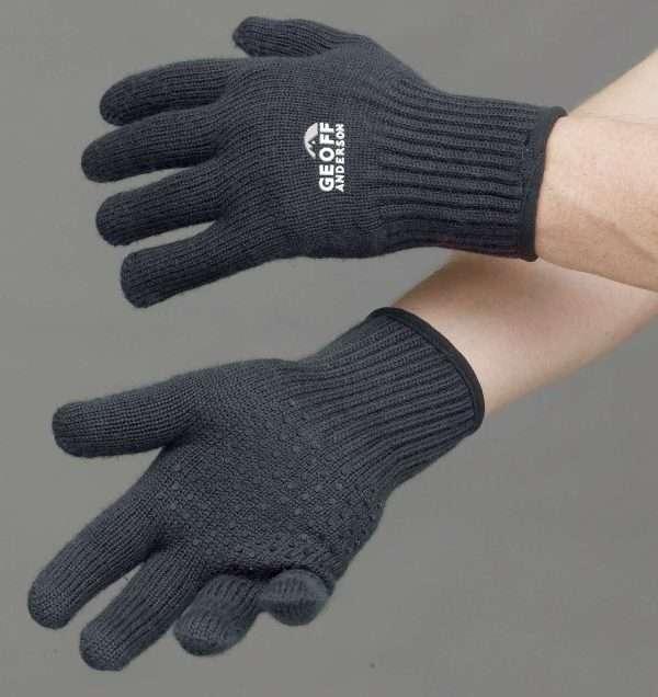 Technicalmerino Gloves In Black
