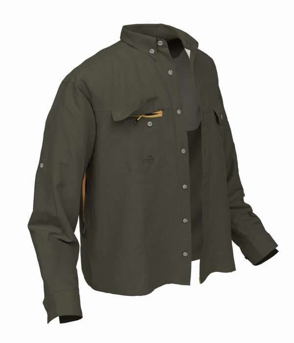 Geoff Anderson Green Shirt