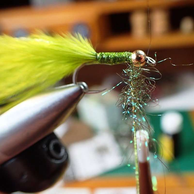10. Step 10 Spin Tight Then Wind On Dubbing Loop