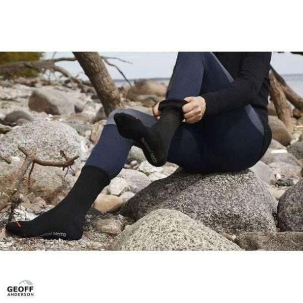 Liner Socks On